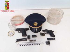 Sicurezza: 45enne arrestato per furto e violazione normativa  armi