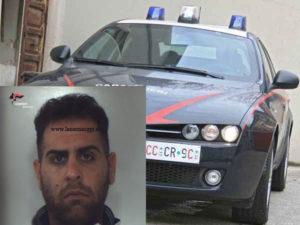 Droga: 28enne arrestato dai Carabinieri  per cessione e uso stupefacenti