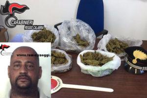 Droga: marijuana e bilancino di precisione, un arresto a Reggio