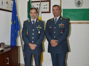 Gdf: Generale Contini vista comando provinciale Reggio Calabria