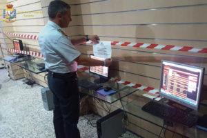 Giochi illegali: operazione GdF in Puglia, sequestri e verbali