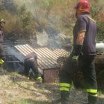 Box in fiamme a Catanzaro, paura ma nessun ferito