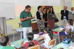 Scuola: Marziale visita plessi comune Motta San Giovanni