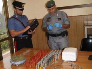 Criminalita': armi e droga sequestrate nella Locride