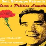 Lamezia: i socialisti ricordano il senatore Giuseppe Petronio