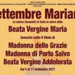 Lamezia: celebrazioni settembre Mariano in onore della Madonna