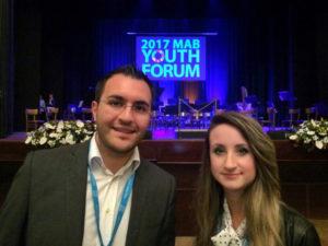 Delegati della Sila al Forum Mondiale dei Giovani MaB