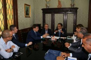 Zes: Abramo incontra Confindustria Catanzaro, Cgil, Cisl e Uil