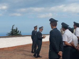 Gdf: il generale Contini visita comando provinciale Vibo