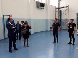 """Provincia Catanzaro: sopralluogo di Bruno al liceo classico """"Galluppi"""""""