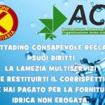 Lamezia: Acu e Ai promuovo raccolta firme contro Multiservizi