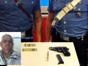 Criminalita': armi, 76enne arrestato a Reggio dai Carabinieri