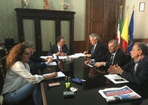 Catanzaro: rapporti comune-regione, Abramo incontra consiglieri regionali