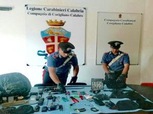 Sventato furto in banca nel Cosentino, 6 arresti