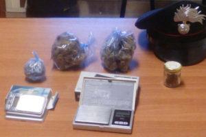 Droga: 54enne disoccupato arrestato a Reggio dai Carabinieri