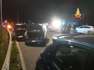 Incidenti stradali: tre feriti in via dei Tulipani a Catanzaro