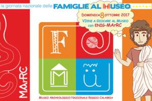 Musei: MarRc aderisce Giornata Nazionale delle Famiglie