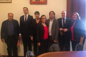 Comune Reggio: diplomatici Romania a Palazzo San Giorgio