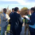 Cosenza: sopralluogo strada Serra Spiga-Mendicino