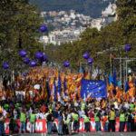 Catalogna, folla in piazza per unita' e elezioni