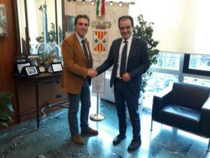 Provincia Catanzaro: Presidente Bruno incontra Fiorita