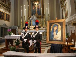 Carabinieri a Catanzaro Celebrazione della Virgo Fidelis