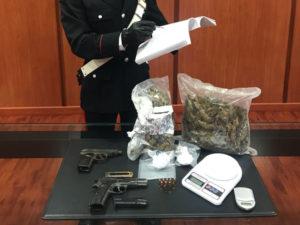 Criminalita': armi e droga in casa, un arresto a Cosenza