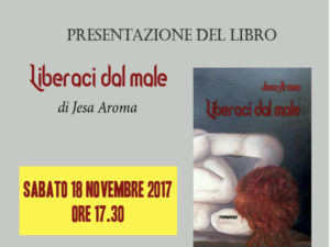 "Catanzaro: Jesa Aroma presenta ""Liberaci dal male"""