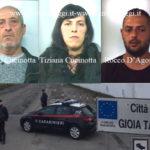 Sicurezza: controlli dei Cc di Gioia Tauro, 4 arresti e 3 denunce