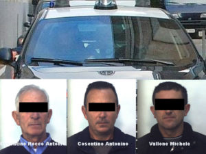 Rapine ed estorsioni: tre arresti dei carabinieri a Mileto