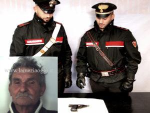 Ferisce vicini a colpi di pistola a Reggio Calabria, arrestato