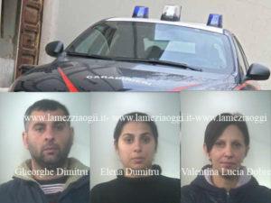 Furti: rubano in un negozio, sorpresi e arrestati dai Carabinieri