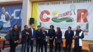 """Catanzaro: campi tennis """"Silvio Giancotti"""" restituiti alla citta'"""