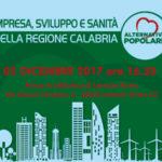 "Lamezia: Ap, ""Impresa, sviluppo e sanita'  in Calabria"""
