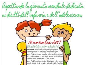 Catanzaro: giornata dedicata diritti infanzia e adolescenza