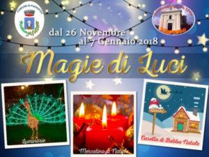 """Pianopoli: Natale con la manifestazione """"Magie di Luci"""""""