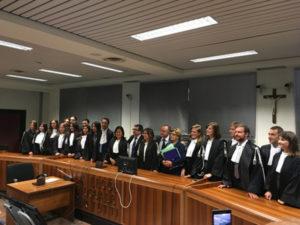 Giustizia: Catanzaro, in servizio 18 nuovi magistrati