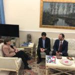 Violenza donna Gizzeria delegazione rumena ricevuta dal Prefetto
