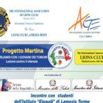 """Lamezia: il Lions Club Host presenta il """"Progetto Martina"""""""