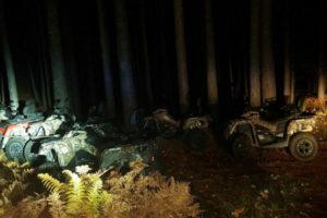 Quad rubati a Villaggio Palumbo ritrovati nella notte dai Cc