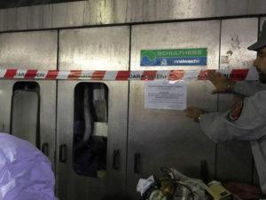 Ambiente: sequestrate lavatrici industriali a Montalto, denuncia