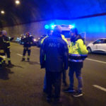 Anas: simulato incidente stradale con feriti in galleria A2
