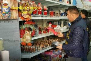 Gdf: sequestrati a Cosenza 7 milioni di giocattoli e luminarie
