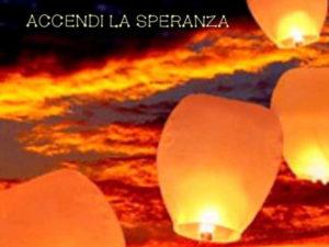 Rogliano: 235 lanterne accendono la speranza nel cielo