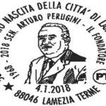 Annullo filatelico per 50 anni nascita di Lamezia Terme