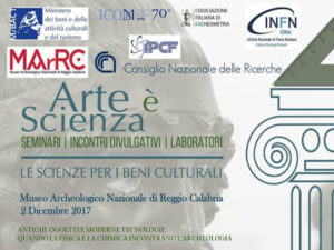 """Reggio: Domani al MarRc convegno """"Arte è scienza"""""""