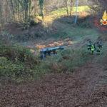 Incidenti stradali: auto fuori strada, un morto a Cortale