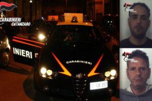 Tentano rapimento scopo sessuale, arrestati dai Cc a Catanzaro