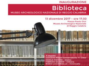 Reggio: Mercoledì inaugurazione biblioteca del Museo