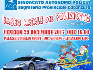Catanzaro: al Palagiovino 10^ edizione Babbo Natale del Poliziotto